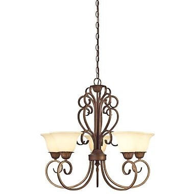 Westinghouse Lighting Regal Springs 5-Light Shaded Chandelier