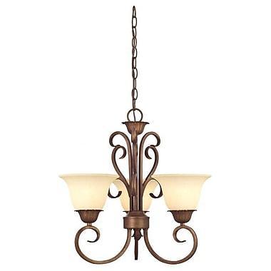 Westinghouse Lighting Regal Springs 3-Light Shaded Chandelier