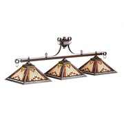 RAM Game Room Laredo 3-Light Billiards Light