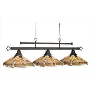 RAM Game Room Taliesin 3-Light Billiards Light