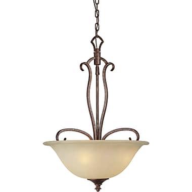 Forte Lighting 4-Light Bowl Inverted Pendant