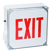 Morris Products Wet Location LED Exit Sign Battery Backup Unit with Red Letter