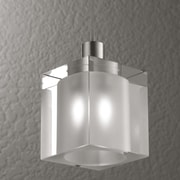 LumenArt Alume 1 Light Pendant Light; With Aluminum Square Junction Box Cover
