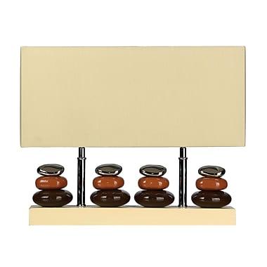 Cortesi Home LumiRock 15'' Table Lamp