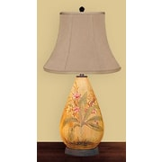 JB Hirsch Fall 30'' H Table Lamp with Bell Shade