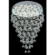 Elegant Lighting Galaxy 12 Light LED  Chandelier; Elegant Cut