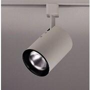 PLC Lighting Cylinder 1 Light Track Light; White