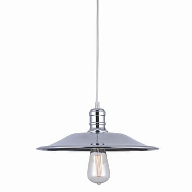 Bromi Design Astor Court 1 Light Mini Pendant; 5.5'' H x 14'' W x 14'' D