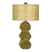 Cal Lighting 28.75'' H Table Lamp with Drum Shade
