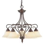 Livex Lighting Coronado 5 Light Chandelier; Imperial Bronze