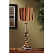 Crestview Briston Buffet 34'' H Table Lamp with Drum Shade