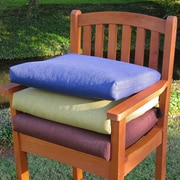 Blazing Needles Outdoor Adirondack Chair Cushion (Set of 2); Mocha