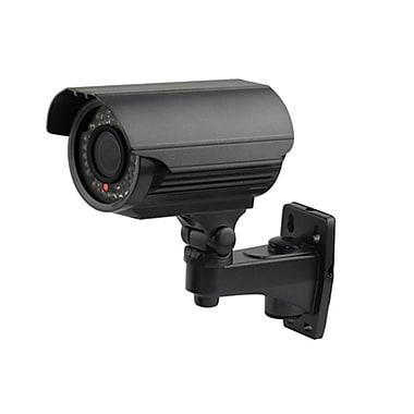 SeqCam – Caméra de surveillance couleur IR à l'épreuve des intempéries, de type pistolet, 11 x 7 x 5 po, noir