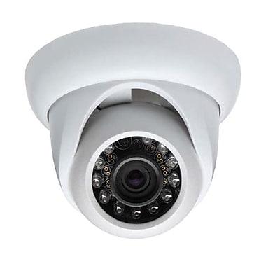 SeqCam – Mini caméra dôme IR étanche 700 LTV, 3,4 po x 4,5 pox 4,5 po, blanc