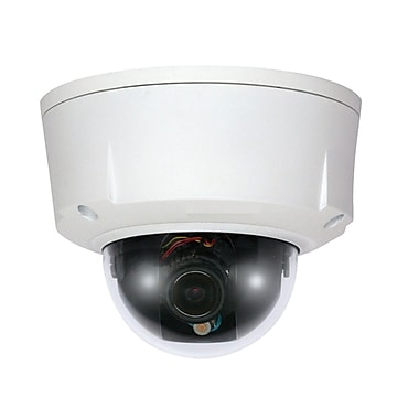SeqCam 2 Megapixel Water-Proof & Vandal-Proof Network Dome Camera, 4.7