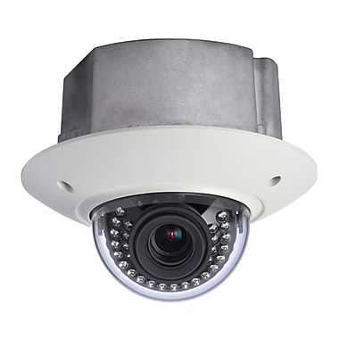 SeqCam 3 Megapixel Full HD Vandal-proof IR Network In-ceiling Dome Camera, 5.5
