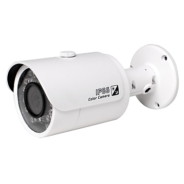 SeqCam – Petite caméra canon réseau IR pleine HD 2 mégapixels, 2,5 po x 2,8 po x 6,3 po, blanc