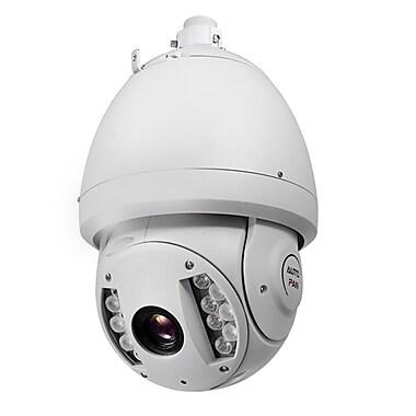 SeqCam – Caméra dôme PTZ réseau IR pleine HD 3 mégapixels, 15 po x 9 po x 9 po, blanc