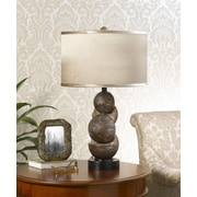 Cal Lighting 28.5'' H Table Lamp with Drum Shade