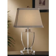 Crestview Alma 28'' H Table Lamp with Empire Shade