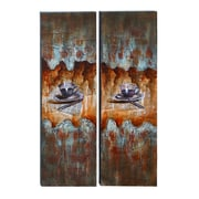 Woodland Imports Coffee House 2 Piece Painting Print on Canvas Set