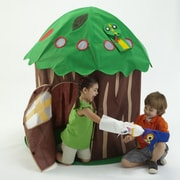 Bazoongi Kids Puppet Tree Play Structure Playhouse