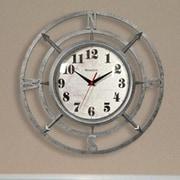 Westclox 14'' Round Compass Dial Wall Clock