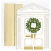 "JAM Paper Holiday Door Christmas Card Set, 7.9"" x 5.6"", 16/Pack (526868100)"