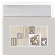 "JAM Paper ""Behold Him"" Christmas Card Set, 7.9"" x 5.6"", 16/Pack (526868400)"