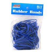 JAM Paper® Rubber Bands, #33 Size, Blue Rubberbands, 100/pack (333RBBU)