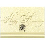 JAM Paper® Blank Anniversary Cards Set, Happy Anniversary, 25/pack (526XA5610WB)