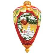 G Debrekht Derevo Winter Forest Ornament