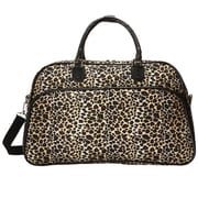 World Traveler Leopard 21'' Carry-On Duffel
