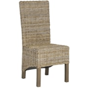 Safavieh Pembrooke Side Chair (Set of 2); Natural Unfinished