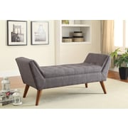 Wildon Home   Bedroom Bench; Grey