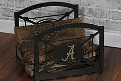 HensonMetalWorks Log Rack; Alabama