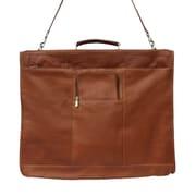 Piel Traveler 40'' Elite Garment Bag; Saddle
