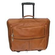 Piel Traveler Garment Bag; Saddle