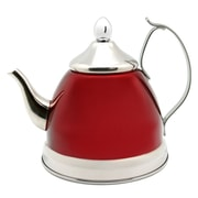 Creative Home Nobili 1 Qt. Infuser and Tea Kettle; Cranberry