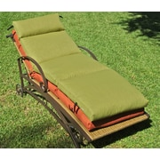 Blazing Needles Outdoor Chaise Lounge Cushion