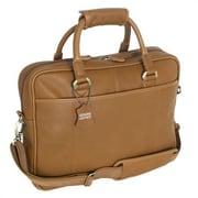 Mercury Luggage Sondrio Leather Briefcase; Brown