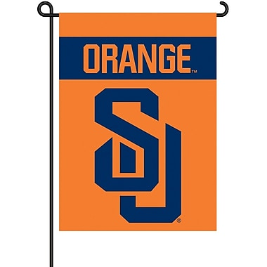 BSI Products NCAA 2-Sided Garden Flag Set; Syracuse