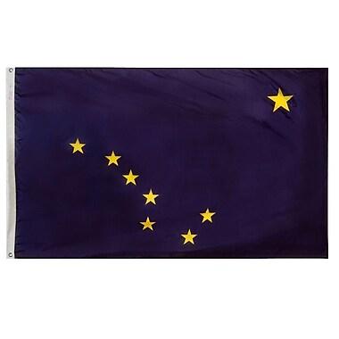 Annin Flagmakers Alaska State Flag; 4' x 6'