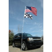 JTD Enterprises Ultimate Tailgaters Telescoping Flagpole; 14'