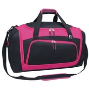 Travelers Club Xpedition 21'' Duffel; Pink w/ Black Trim
