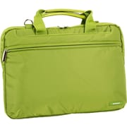 J World Laptop Briefcase; Olive Green