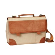Bellino Russo Leather Laptop Briefcase