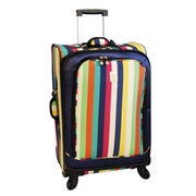 Jenni Chan 28'' Multi Stripes 360 Quattro Spinner Suitcase