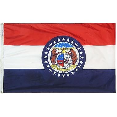 Annin Flagmakers Missouri State Flag; 4' x 6'