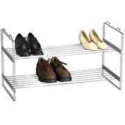 Household Essentials Storage and Organization 2 Tier Shoe Rack